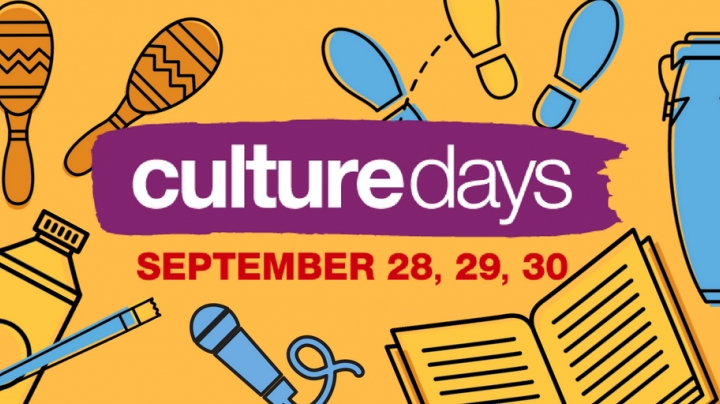 Culture Days Poster