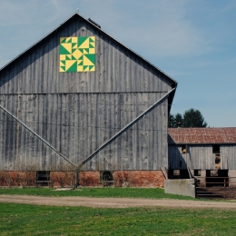 Brown Barn Quilt